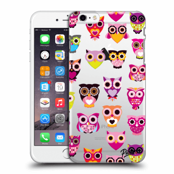 Hülle für Apple iPhone 6 Plus/6S Plus - Owls