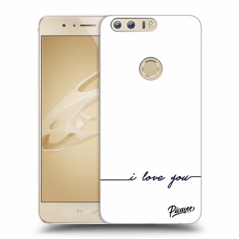 Hülle für Honor 8 - I love you