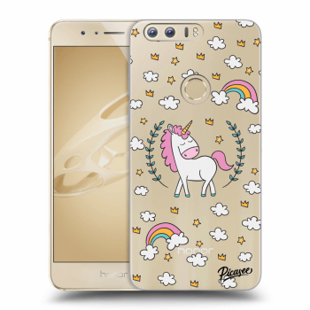 Hülle für Honor 8 - Unicorn star heaven