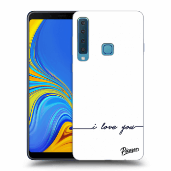 Hülle für Samsung Galaxy A9 2018 A920F - I love you