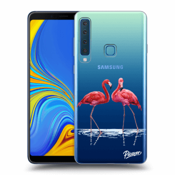 Hülle für Samsung Galaxy A9 2018 A920F - Flamingos couple