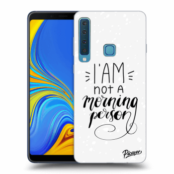 Hülle für Samsung Galaxy A9 2018 A920F - I am not a morning person