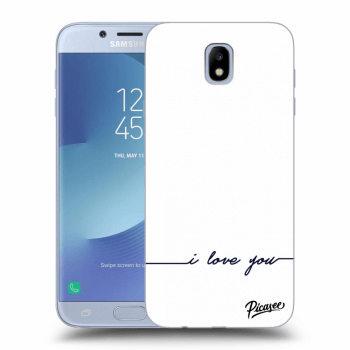 Hülle für Samsung Galaxy J7 2017 J730F - I love you
