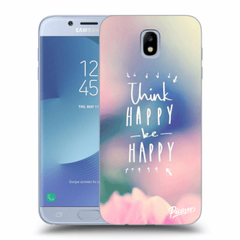 Hülle für Samsung Galaxy J7 2017 J730F - Think happy be happy