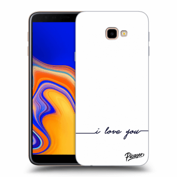 Hülle für Samsung Galaxy J4+ J415F - I love you