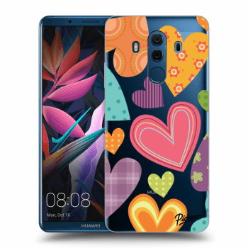 Hülle für Huawei Mate 10 Pro - Colored heart