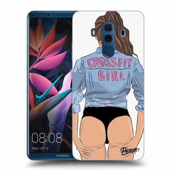 Hülle für Huawei Mate 10 Pro - Crossfit girl - nickynellow