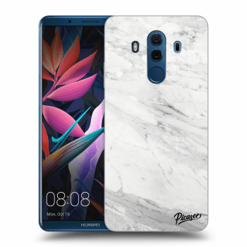 Hülle für Huawei Mate 10 Pro - White marble