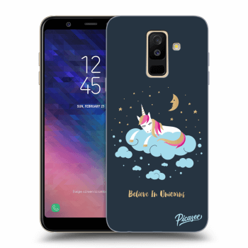 Hülle für Samsung Galaxy A6+ A605F - Believe In Unicorns