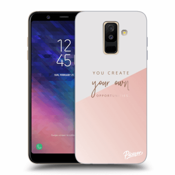 Hülle für Samsung Galaxy A6+ A605F - You create your own opportunities