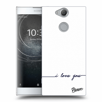 Hülle für Sony Xperia XA2 - I love you