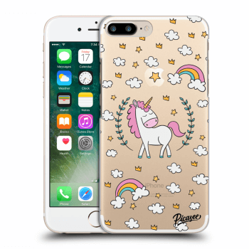Hülle für Apple iPhone 7 Plus - Unicorn star heaven