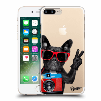 Hülle für Apple iPhone 7 Plus - French Bulldog