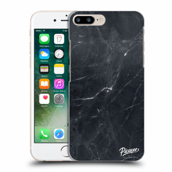 Hülle für Apple iPhone 7 Plus - Black marble