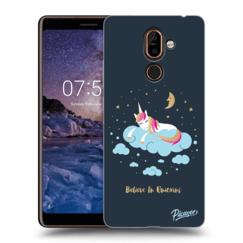 Hülle für Nokia 7 Plus - Believe In Unicorns