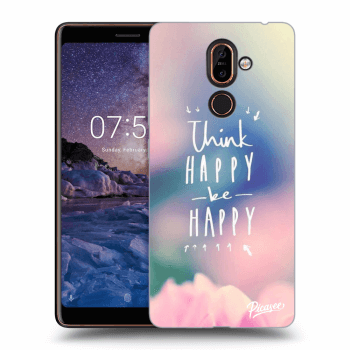 Hülle für Nokia 7 Plus - Think happy be happy