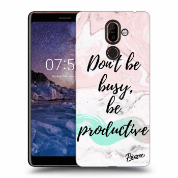 Hülle für Nokia 7 Plus - Don't be busy, be productive