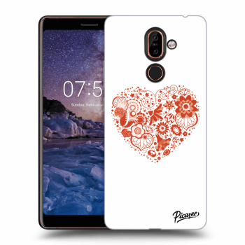 Hülle für Nokia 7 Plus - Big heart