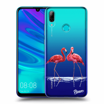 Hülle für Huawei P Smart 2019 - Flamingos couple