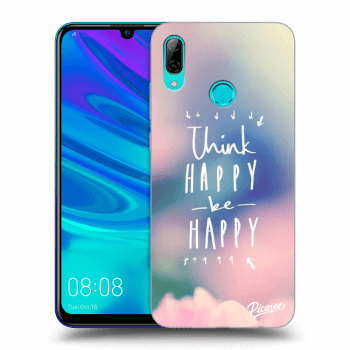 Hülle für Huawei P Smart 2019 - Think happy be happy