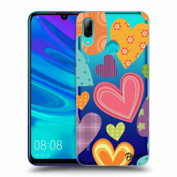 Hülle für Huawei P Smart 2019 - Colored heart