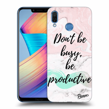 Hülle für Honor Play - Don't be busy, be productive