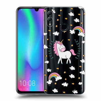 Hülle für Honor 10 Lite - Unicorn star heaven