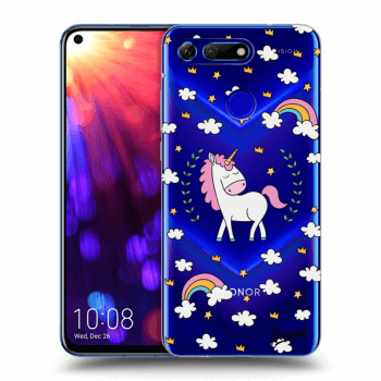 Hülle für Honor View 20 - Unicorn star heaven