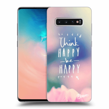 Hülle für Samsung Galaxy S10 Plus G975 - Think happy be happy
