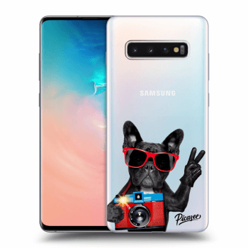 Hülle für Samsung Galaxy S10 Plus G975 - French Bulldog