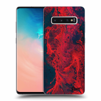Hülle für Samsung Galaxy S10 Plus G975 - Organic red