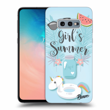 Hülle für Samsung Galaxy S10e G970 - Girls Summer