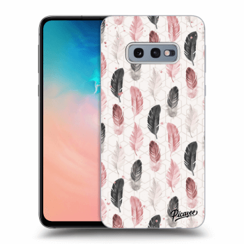 Hülle für Samsung Galaxy S10e G970 - Feather 2
