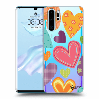 Hülle für Huawei P30 Pro - Colored heart