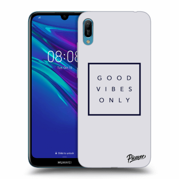 Hülle für Huawei Y6 2019 - Good vibes only