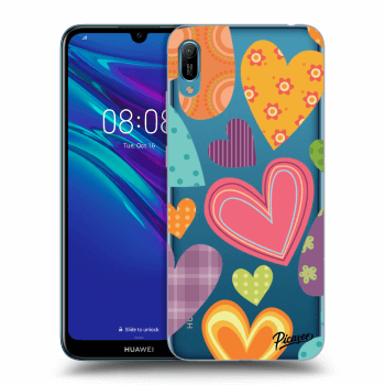 Hülle für Huawei Y6 2019 - Colored heart