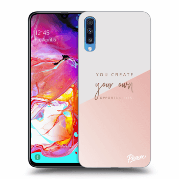 Hülle für Samsung Galaxy A70 A705F - You create your own opportunities